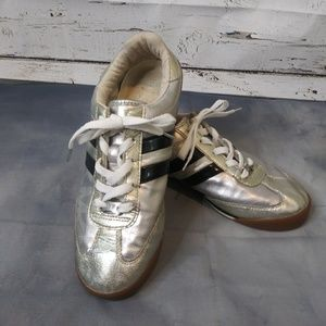 Michael Kors/ Silver Sneakers/ Size 8